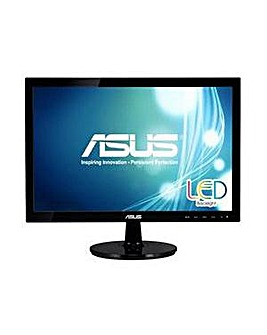 """ASUS 18.5"""" LED Widescreen Monitor"""