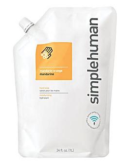 Simple Human Liquid Hand Soap Mandarin