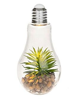 Faux Cactus LED Garden Bulb