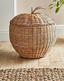 Apple Storage Basket with Lid