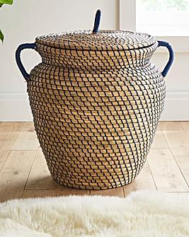 Greek Pot Shaped Basket