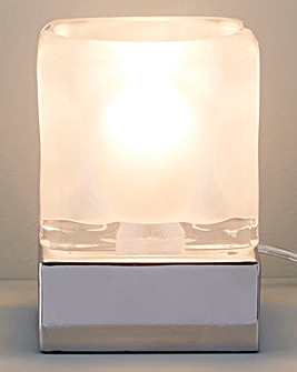 3 Stage Touch Frosted Bedside Table Lamp