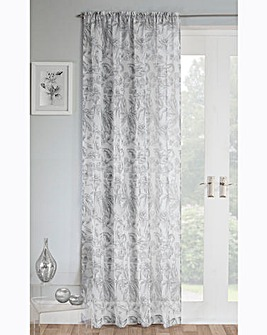 Madison Floral Voile Panel