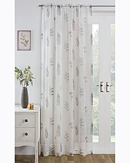 Bracken Leaf Printed Voile Panel