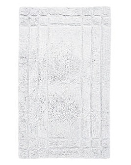 Luxury Cotton Bathmats - Snowflake