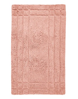 Luxury Cotton Bathmats -Seashell Pink