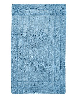 Luxury Cotton Bathmats -Whispering Blue