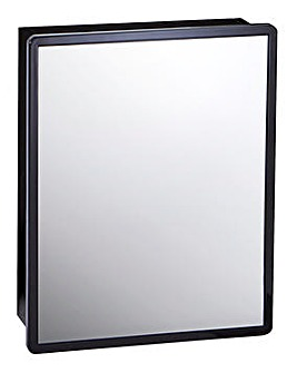 Sophia Black Gloss Mirror