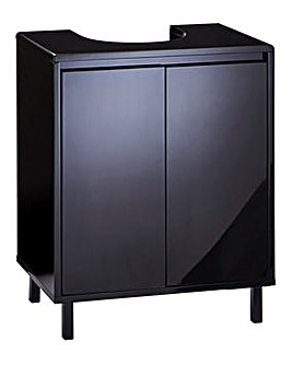 Sophia Black Gloss Under Basin