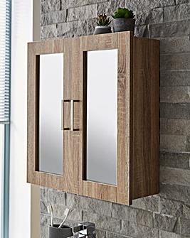 Elija Doule Mirror Door Cabinet
