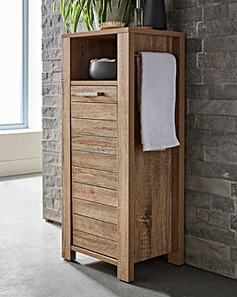 Elija Shelf Cabinet with Towel Rail