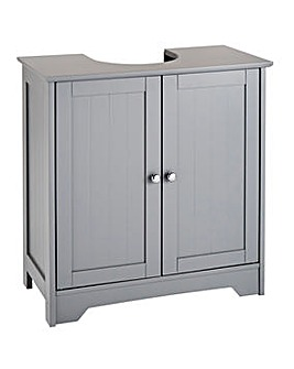 New England Underbasin Cupboard Grey