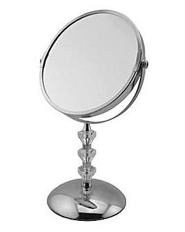 Crystal Pedestal Mirror