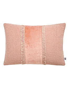 Ariel Blush Feather Filled Cushion