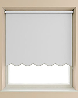 Scalloped Roller Blind