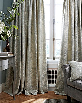 Eden Jaquard Lined Curtains