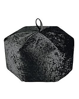 Crushed Velvet Extra Large Beanbag