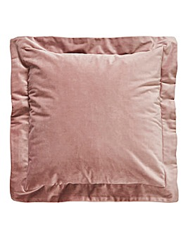 Velvet Opulence Oxford Edge Cushion