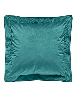 Velvet Opulence Oxford Edge Cushion