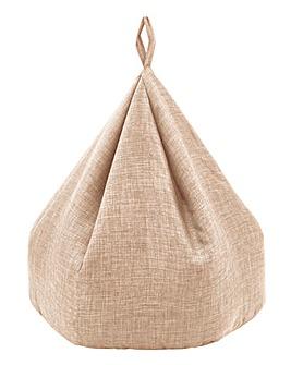Linen Medium Beanbag