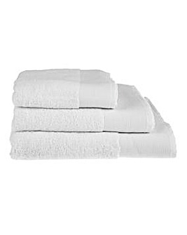 Bamboo Cotton Towels- White
