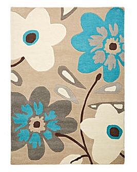 Flowerpop Wool Rug Large
