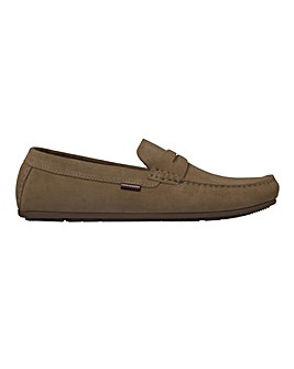 Tommy Hilfiger Suede Driver Shoes Standard Fit