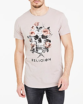 Religion Wreath T-Shirt Long