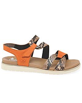 Rieker Mandarin Womens Standard Sandals