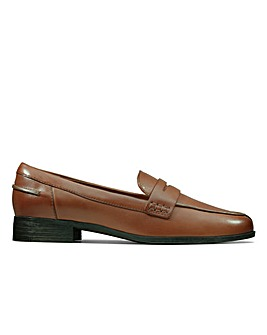 Clarks Hamble Loafer Wide Fitting Shoes