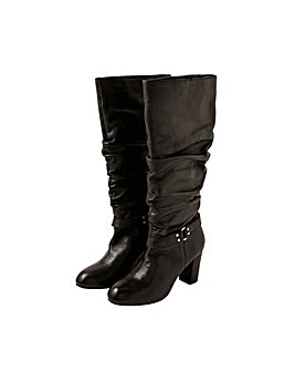 Monsoon Belle Buckle Leather Boots
