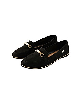 Accessorize Metal Bar Loafers