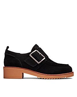 Clarks Eden Mid Monk Standard Fitting Shoes