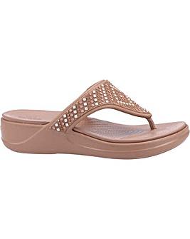 Crocs Monterey Shimmer Sandal