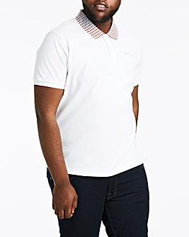 Ben Sherman Tipped Collar Pique Polo