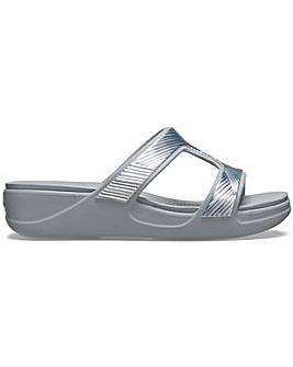 Crocs Monterey Metallic Sandals