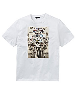 Ben Sherman Headlamps Badges Tee Long