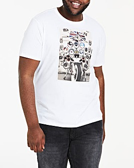 Ben Sherman Headlamps Badges T-Shirt