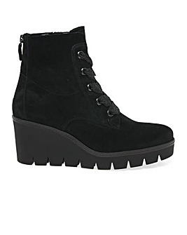 Gabor Ulrika Standard Wedge Ankle Boots