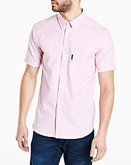 Ben Sherman Short Sleeve Oxford Shirt L
