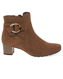 Gabor Hemp Womens Wide Fit Ankle Boots