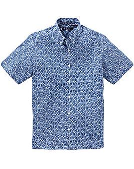 Ben Sherman Stencil Floral Shirt Long