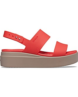 Crocs Brooklyn Low Wedge Platform Sandal
