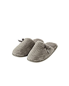 Monsoon Quilted Fluffy Slippers