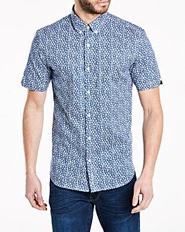 Ben Sherman Stencil Floral Shirt Long