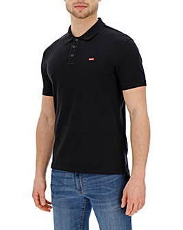 Levi's Black Housemark Polo
