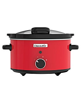 Crockpot 3.5L Manual Steel Slow Cooker