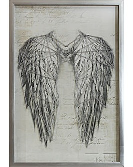 Arthouse Angel Wings Wall Art