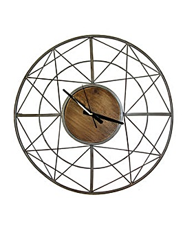 Arthouse Wooden Clock