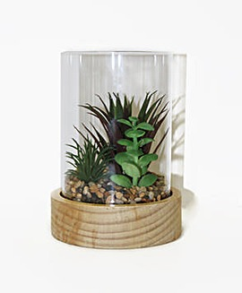Arthouse Faux Glass Terranium